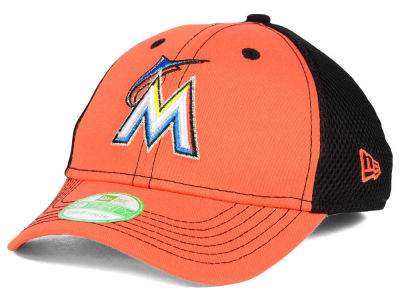 Miami Marlins New Era MLB Jr Team Front Neo 39THIRTY Cap