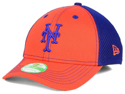 New York Mets New Era MLB Jr Team Front Neo 39THIRTY Cap