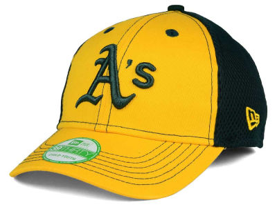 Oakland Athletics New Era MLB Jr Team Front Neo 39THIRTY Cap