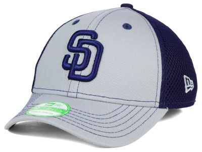 San Diego Padres New Era MLB Jr Team Front Neo 39THIRTY Cap