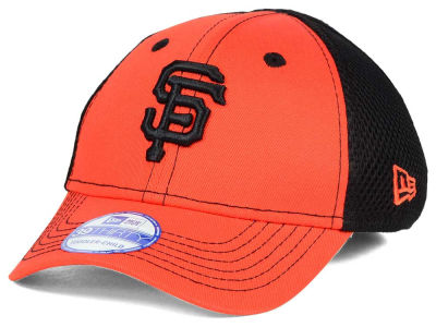 San Francisco Giants New Era MLB Jr Team Front Neo 39THIRTY Cap