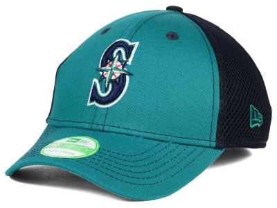 Seattle Mariners New Era MLB Jr Team Front Neo 39THIRTY Cap