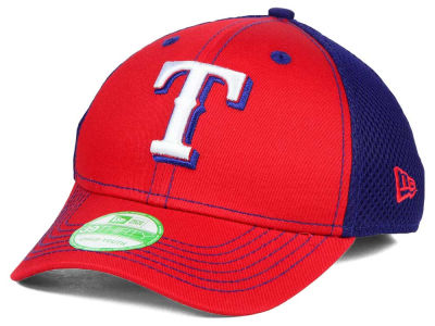 Texas Rangers New Era MLB Jr Team Front Neo 39THIRTY Cap