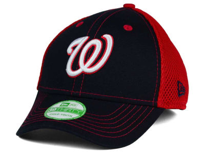 Washington Nationals New Era MLB Jr Team Front Neo 39THIRTY Cap