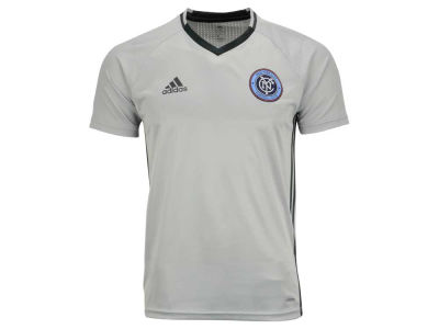 New York City FC adidas MLS Men's Training Top LM