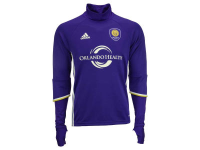 Orlando City SC adidas MLS Men's Long Sleeve Training Top