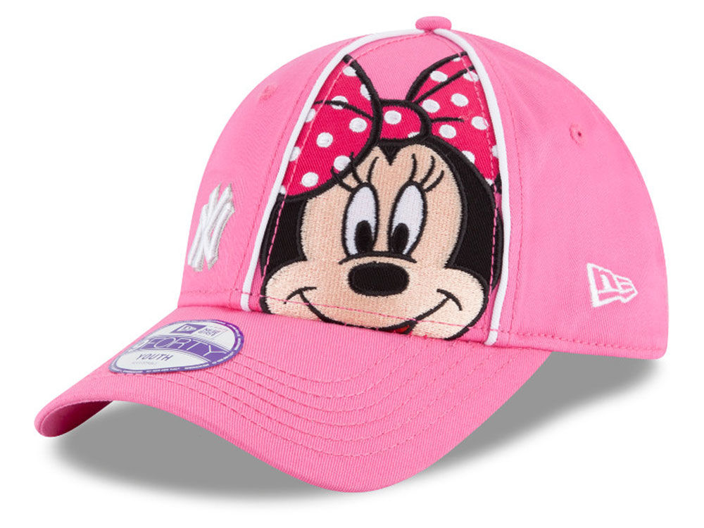 de118169bbb New York Yankees New Era MLB Face Front Minnie 9FORTY Cap