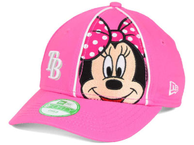 Tampa Bay Rays New Era MLB Face Front Minnie 9FORTY Cap