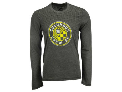 Columbus Crew SC adidas MLS Men's Crest Authentic Long Sleeve T-Shirt