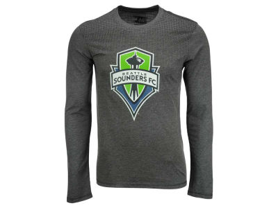 Seattle Sounders FC adidas MLS Men's Crest Authentic Long Sleeve T-Shirt