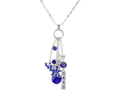 "Kentucky Wildcats 30"" Cluster Necklace"