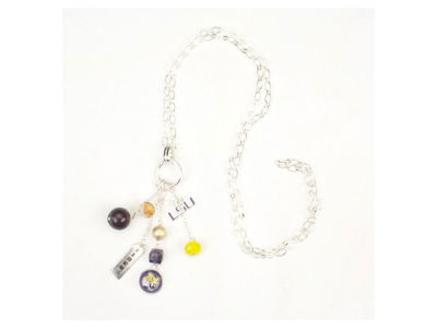 "LSU Tigers 30"" Cluster Necklace"