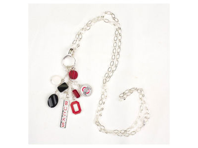 "Ohio State Buckeyes 30"" Cluster Necklace"