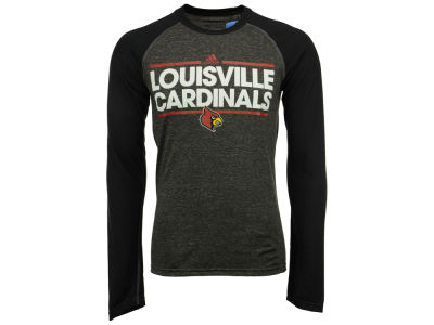 Louisville Cardinals adidas NCAA Men's Dassler Long Sleeve Raglan T-Shirt