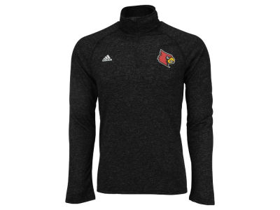 Louisville Cardinals adidas NCAA Men's Ultimate Screen Print Quarter Zip Long Sleeve Shirt