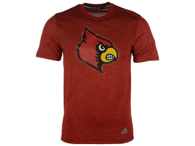 Louisville Cardinals adidas NCAA Men's Surface Short Sleeve T-Shirt
