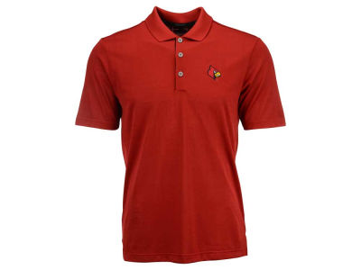 Louisville Cardinals adidas NCAA Men's Climacool Grid Texture Polo Shirt