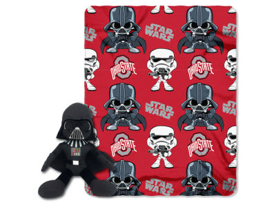 Ohio State Buckeyes Star Wars Hugger with Throw