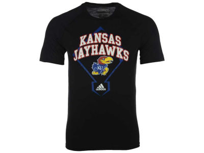 Kansas Jayhawks adidas NCAA Men's Baseball Diamond T-Shirt