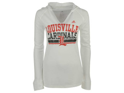 Louisville Cardinals adidas NCAA Women's Collegiate Weathering Hooded Long Sleeve