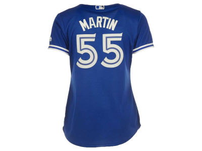 Toronto Blue Jays Russell Martin Majestic MLB Women's Cool Base Player Replica Jersey