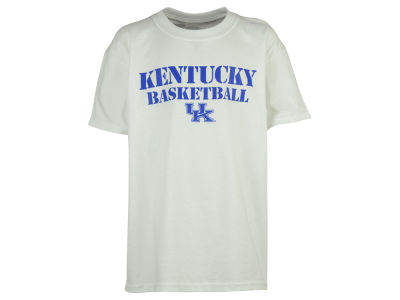 Kentucky Wildcats NCAA Youth Stencil Basketball Text T-Shirt