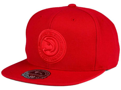 Atlanta Hawks Mitchell and Ness NBA Tonal TC Hi Crown Fitted Cap