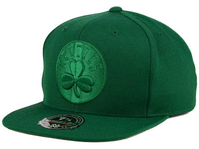 Boston Celtics Mitchell and Ness NBA Tonal TC Hi Crown Fitted Cap