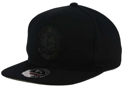 Brooklyn Nets Mitchell and Ness NBA Tonal TC Hi Crown Fitted Cap