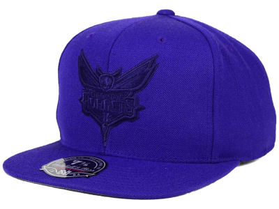 Charlotte Hornets Mitchell and Ness NBA Tonal TC Hi Crown Fitted Cap