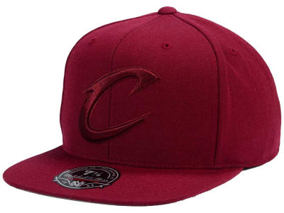 Cleveland Cavaliers Mitchell and Ness NBA Tonal TC Hi Crown Fitted Cap