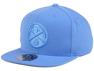 Denver Nuggets Mitchell and Ness NBA Tonal TC Hi Crown Fitted Cap