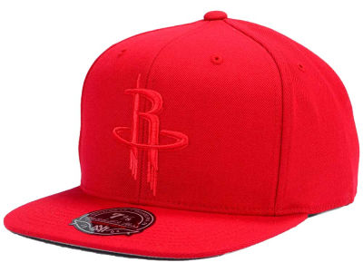 Houston Rockets Mitchell and Ness NBA Tonal TC Hi Crown Fitted Cap