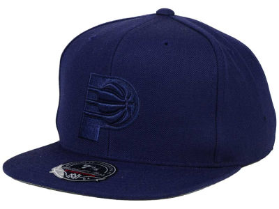 Indiana Pacers Mitchell and Ness NBA Tonal TC Hi Crown Fitted Cap