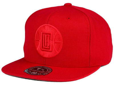 Los Angeles Clippers Mitchell and Ness NBA Tonal TC Hi Crown Fitted Cap