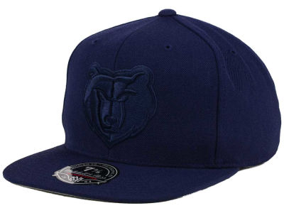 Memphis Grizzlies Mitchell and Ness NBA Tonal TC Hi Crown Fitted Cap