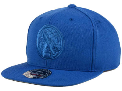 Minnesota Timberwolves Mitchell and Ness NBA Tonal TC Hi Crown Fitted Cap