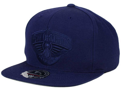 New Orleans Pelicans Mitchell and Ness NBA Tonal TC Hi Crown Fitted Cap
