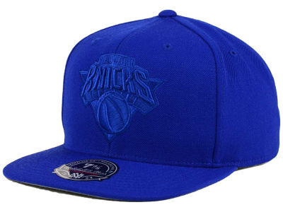 New York Knicks Mitchell and Ness NBA Tonal TC Hi Crown Fitted Cap
