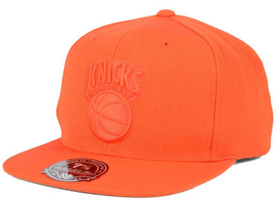 New York Knicks Mitchell & Ness NBA Tonal TC Hi Crown Fitted Cap