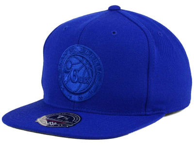 Philadelphia 76ers Mitchell and Ness NBA Tonal TC Hi Crown Fitted Cap