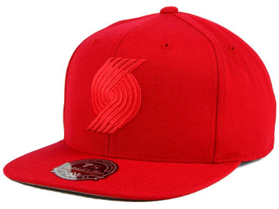 Portland Trail Blazers Mitchell and Ness NBA Tonal TC Hi Crown Fitted Cap