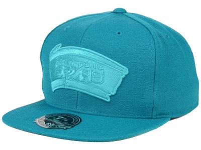 San Antonio Spurs Mitchell and Ness NBA Tonal TC Hi Crown Fitted Cap