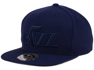 Utah Jazz Mitchell and Ness NBA Tonal TC Hi Crown Fitted Cap