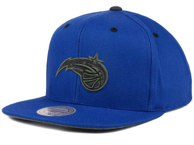 Orlando Magic Mitchell and Ness NBA Grey Tonal Logo Snapback Cap