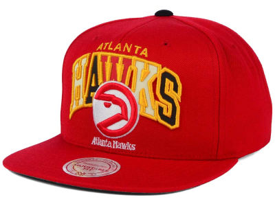 Atlanta Hawks Mitchell and Ness NBA Reflective Tri Pop Snapback Cap