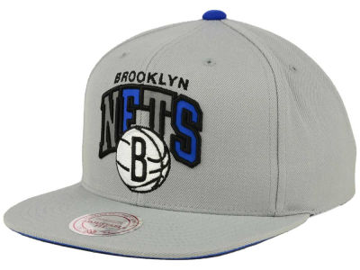 Brooklyn Nets Mitchell and Ness NBA Reflective Tri Pop Snapback Cap