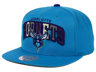 Charlotte Hornets Mitchell and Ness NBA Reflective Tri Pop Snapback Cap
