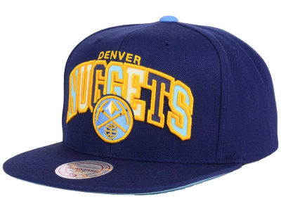 Denver Nuggets Mitchell & Ness NBA Reflective Tri Pop Snapback Cap