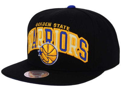 Golden State Warriors Mitchell & Ness NBA Reflective Tri Pop Snapback Cap